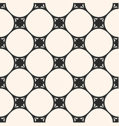 subtle seamless pattern circular grid vector image