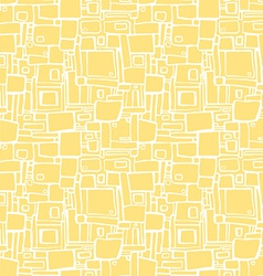 Seamless pattern with abstract geometric texture vector image