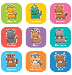 Animals vector image