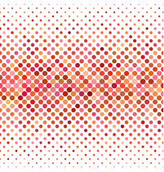 Colored circle pattern background - geometric vector