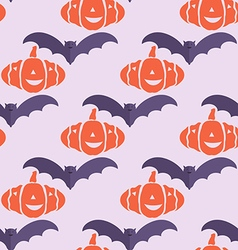 Halloween pattern9 vector image
