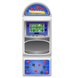 Slot machine 01 vector