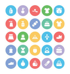 Clothes Icons 9 vector image