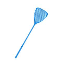 Flyswatter in blue design vector