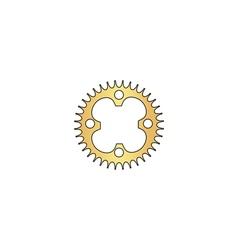 Sprockets computer symbol vector