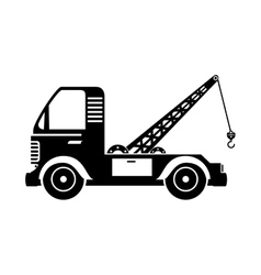 town truck car vector image