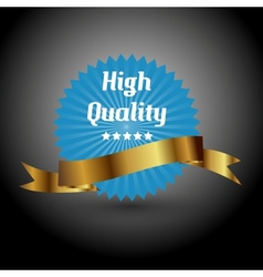 High quality label sign vector