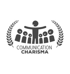Communication logo vector