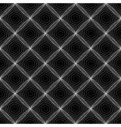 Design seamless diamond web pattern vector