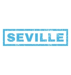 Seville Rubber Stamp vector image