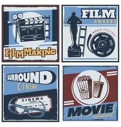 Surround cinema movie composition vector