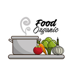 vegetarian food icon stock vector image vector image