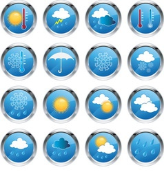 weatherset2a vector image
