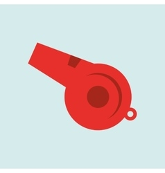 Whistle icon design vector