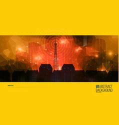 Real estate brochure template design Company vector image