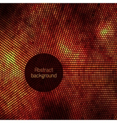 Abstract disco background with halftone vector image