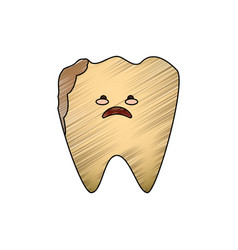 dental care cartoon vector image