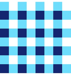 Blue White Chessboard Background vector image