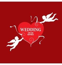 Logo wedding vector