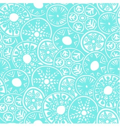 Seamless boho pattern vector