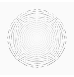 Abstract dot shape design element vector