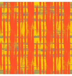 Multicolor seamless pattern with crossing lines vector image