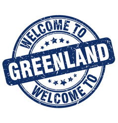 Welcome to greenland vector