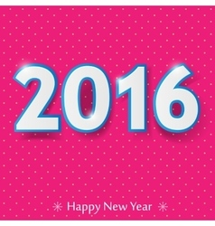 Happy new year 2016 design vector