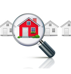 real-estate concept vector image