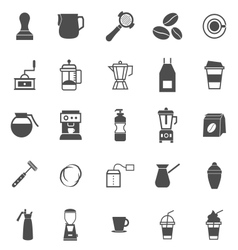 Barista icon on white background vector