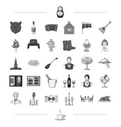 cup tradition travel and other web icon in black vector image vector image