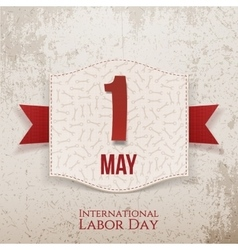 International labor day decorative poster vector