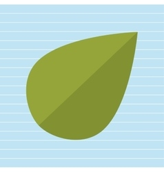 Leaf plant natural sheet vector