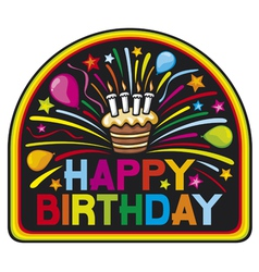 happy birthday party vector image