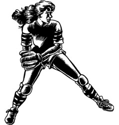 Mg00113 softball01 vector