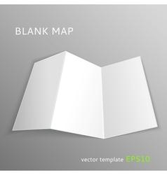 Blank map vector