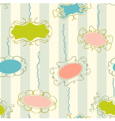 Photo Frames Seamless Pattern vector image vector image