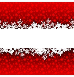 Red glowing background vector image vector image