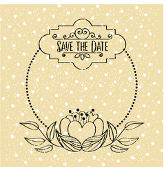 Save the date special vector