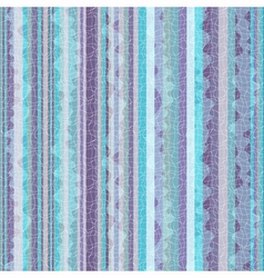 Striped blue-violet zigzag pattern vector image vector image