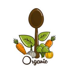 vegetarian food icon stock vector image