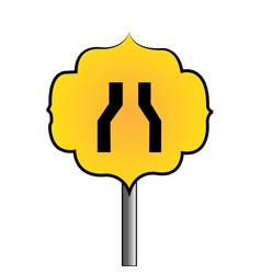 Abstract trafic signal vector