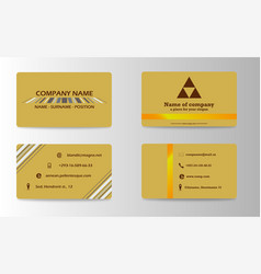 visit card for business vector image