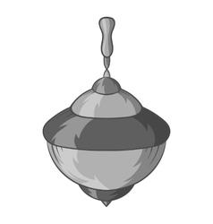 Whirligig icon black monochrome style vector image vector image