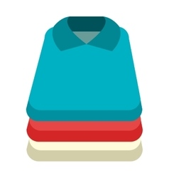 Colorful shirt set graphic vector