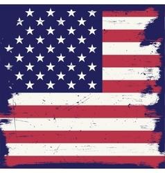 American vintage flag vector