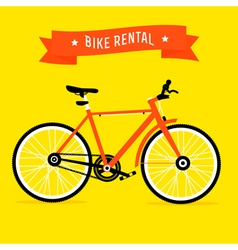 Bike rental vector