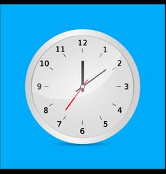 clock 3d vector image vector image