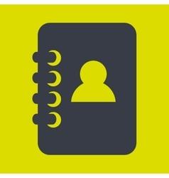 directory icon design vector image