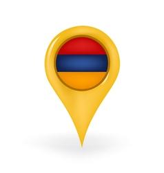 Location armenia vector